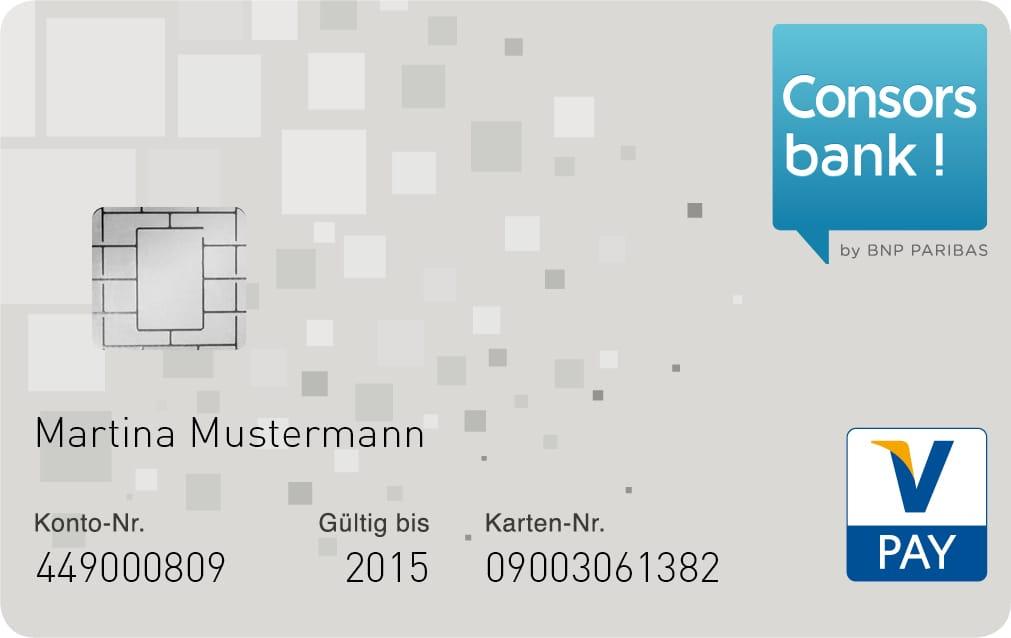 Consorsbank Girokarte